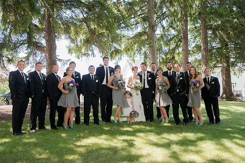 Rustic Victorian Village Wisconsin Wedding
